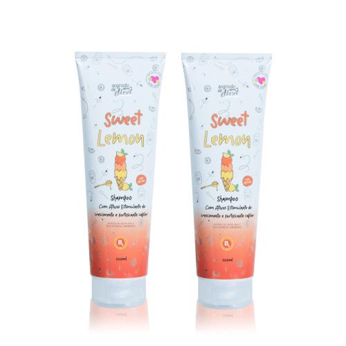 Kit Shampoo Sweet Lemon – 2 unidades